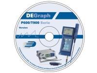 DE-Graph Windows Software für P470/P600/P700/T900-Serie